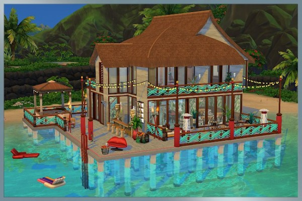 Blackys Sims 4 Zoo: Hotel Sweet by Cappu