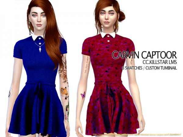 The Sims Resource: Killstar LMS  Dress by carvin captoor