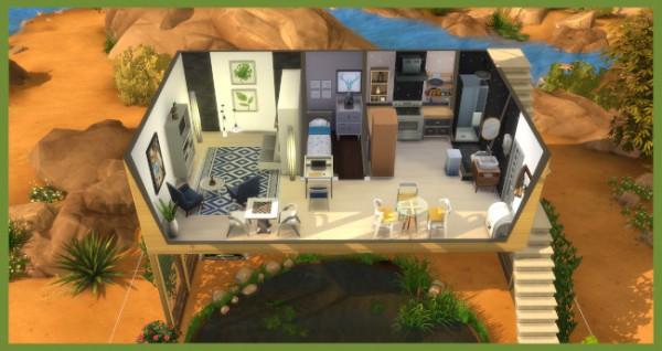 Blackys Sims 4 Zoo: Minihaus by Kosmopolit