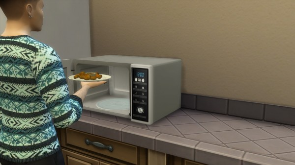 Mod The Sims: Modern microwave by hippy70