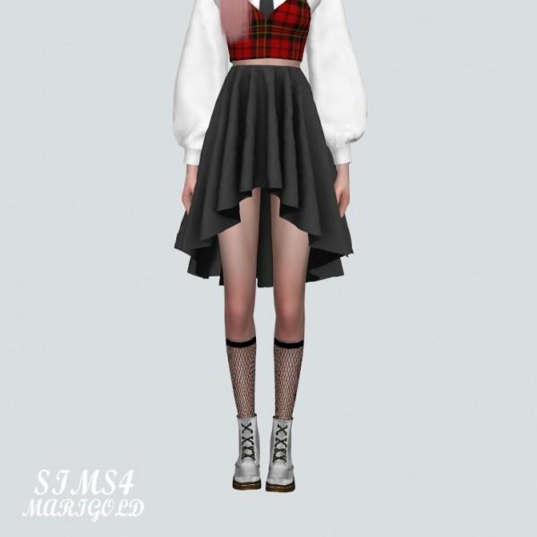 SIMS4 Marigold: BB Mesh Mini Skirt V4