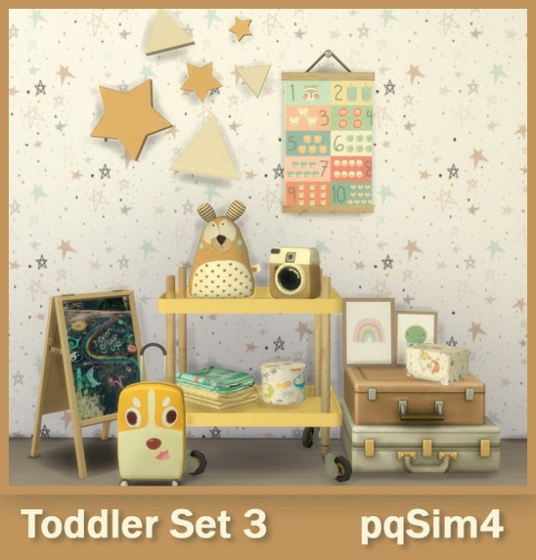 PQSims4: Toddler Set 3