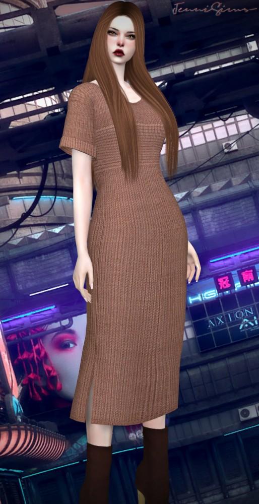 Jenni Sims: Dress Base Game Compatible