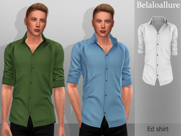 The Sims Resource: Ed shirt by belal1997