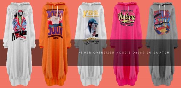 Newen: Oversized Hoodie Dress
