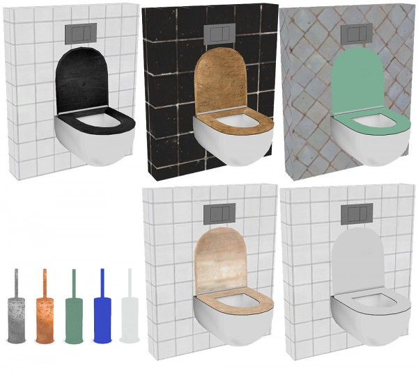Riekus13: Recolors of Wondymoon's Platinum Bathroom