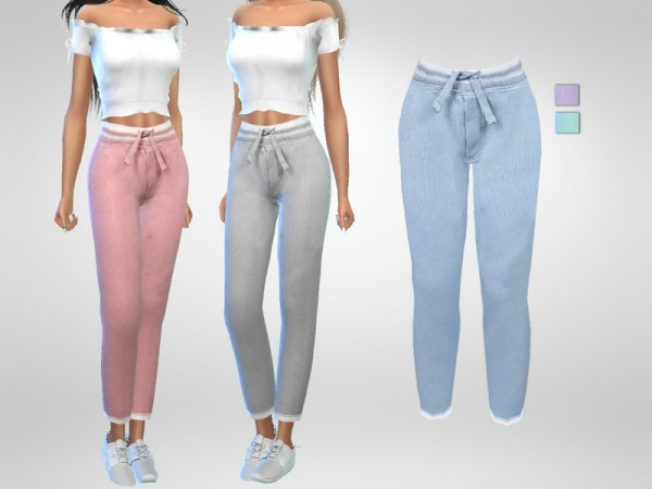 The Sims Resource: Pyjama Bottoms by Puresim