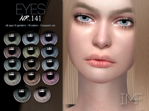 The Sims Resource: Eyes N.141 by IzzieMcFire