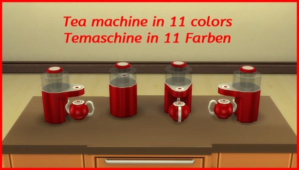 Mod The Sims: Tea maker by hippy70