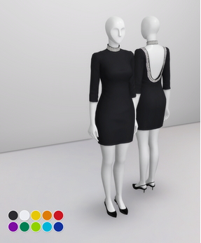 Rusty Nail: LBD Dress by Alice
