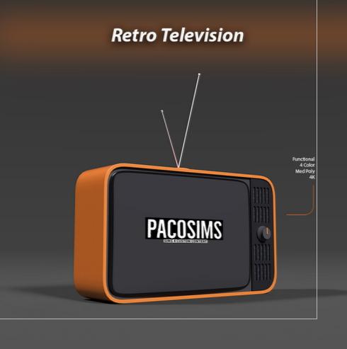 Paco Sims: Retro Televison