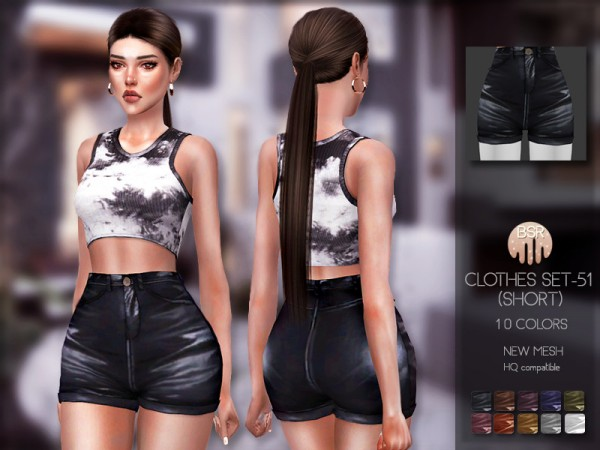 The Sims Resource: Clothes SET 51 Shorts by busra tr