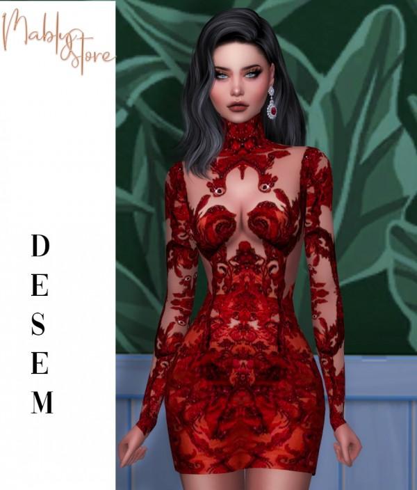 Mably Store: Desempregada Dress