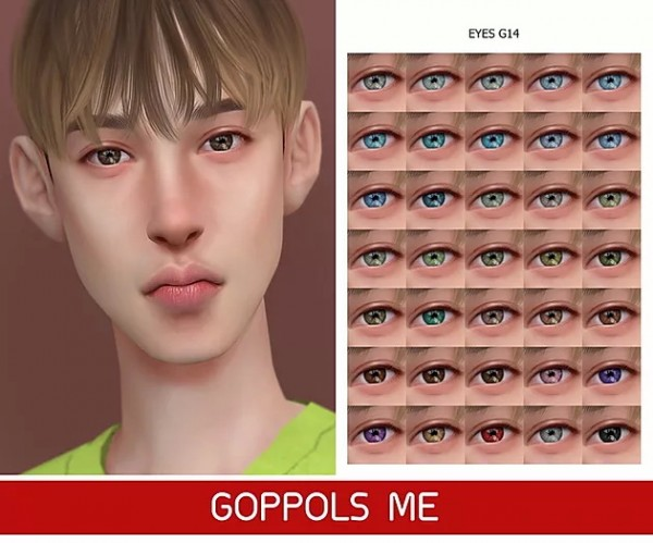 GOPPOLS Me: Eyes G14