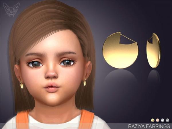 Giulietta Sims: Raziya Earrings For Toddlers