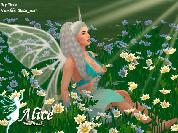 The Sims Resource: Alice   Pose Pack by Beto ae0