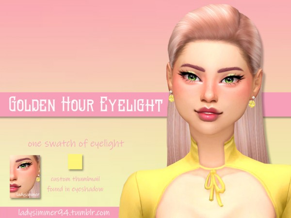 The Sims Resource: Golden Hour Eyelight by LadySimmer94