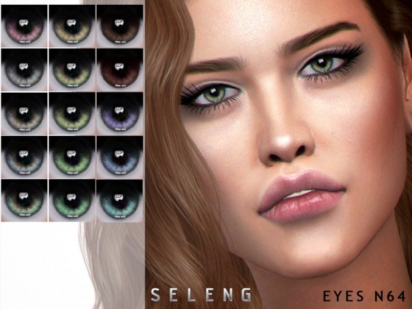 The Sims Resource: Eyes N64 by Seleng
