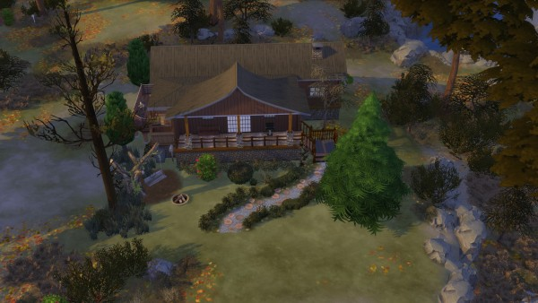 Luniversims: Little cottage by Jayren