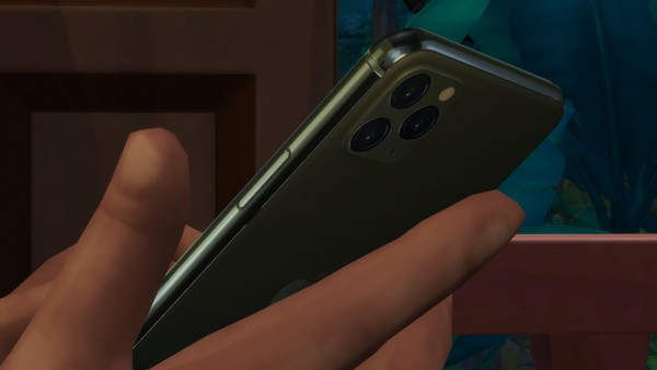 Mod The Sims: Phone DReplacement   Apple iPhone 11 Pro by littledica