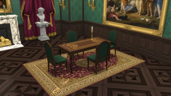 Mod The Sims: French Dining Set by TheJim07