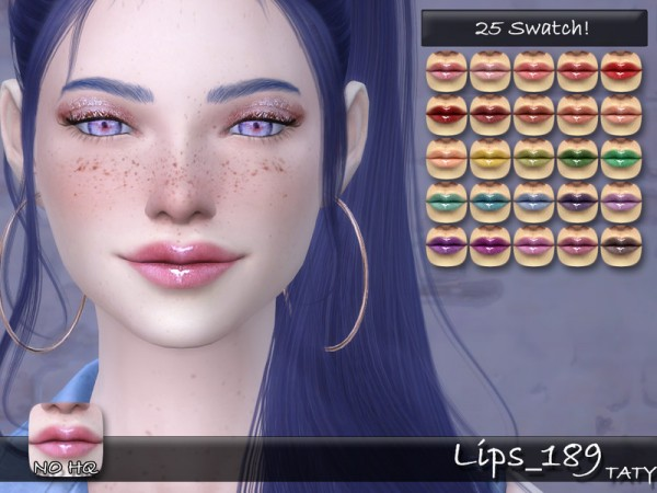 The Sims Resource: Lips 189 by Taty