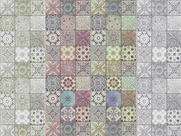 The Sims Resource: Handmade Tiles  by lavilikesims