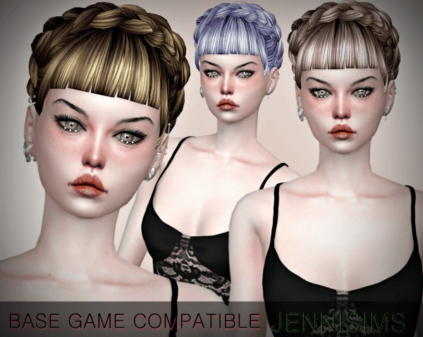 Jenni Sims: Hairstyle Retextured 10 colors