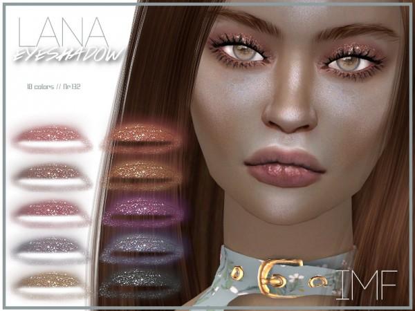 The Sims Resource: Lana Eyeshadow N.132 by IzzieMcFire