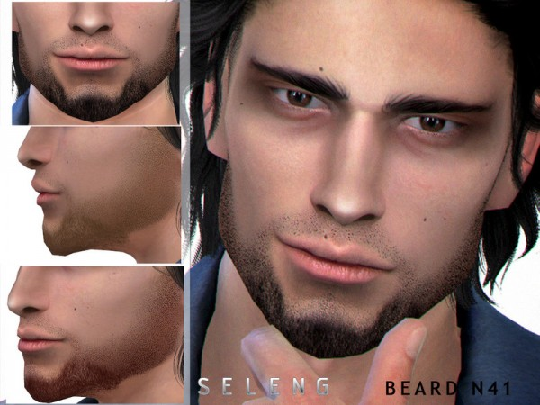 The Sims Resource: Beard N41 by Seleng