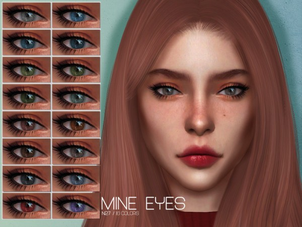 The Sims Resource: Mine Eyes N27 by Lisaminicatsims