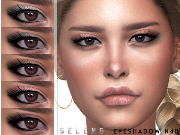 The Sims Resource: Eyeshadow N40 by Seleng