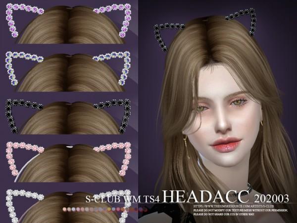 The Sims Resource: WM Headacc 202003 by S Club
