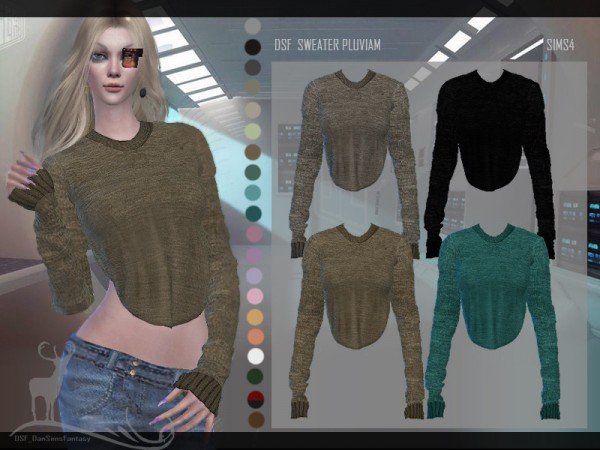 The Sims Resource: Sweaer Pluviam by DanSimsFantasy