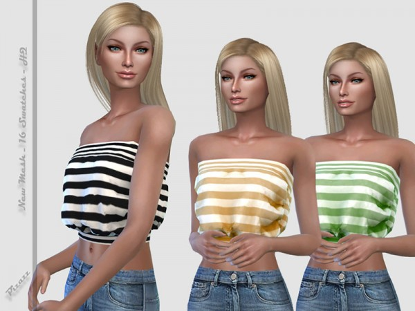 The Sims Resource: Strapless Top by pizazz