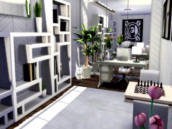 The Sims Resource: Pool House   No CC by GenkaiHaretsu