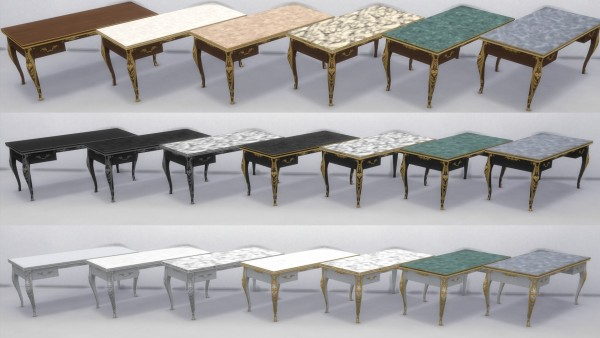 Mod The Sims: Rococo Objects Converted by TheJim07