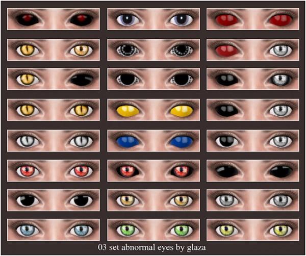 All by Glaza: Aet Abnormal Eyes