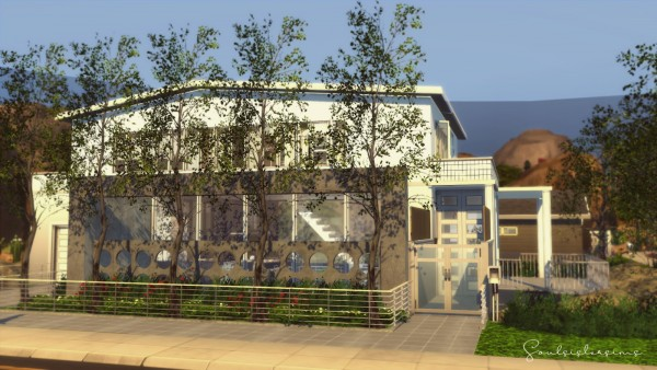 Ideassims4 art: 116 Modernist Family Home