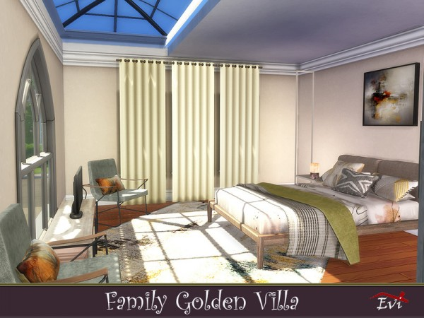 The Sims Resource: Family Golden Villa by evi