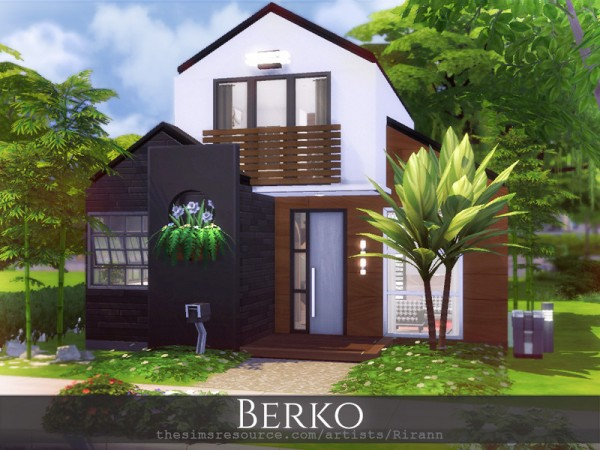 The Sims Resource: Berko House by Rirann