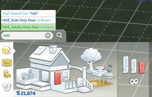 Mod The Sims: Doors by HouseDangerzone