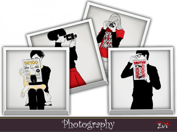 The Sims Resource: Photography by evi
