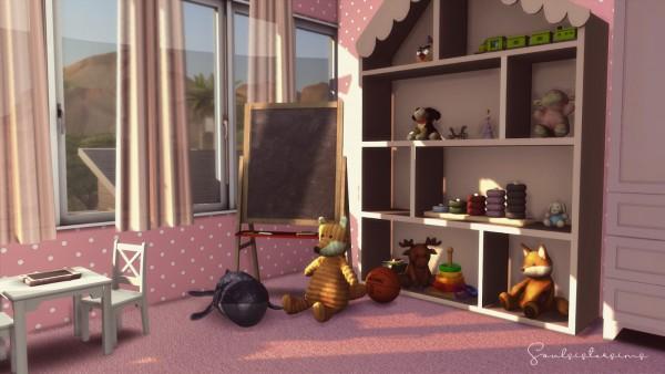 Ideassims4 art: 116 Modernist Family Home