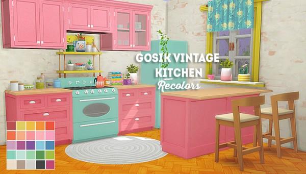LinaCherie: Gosik vintage kitchen   recolors