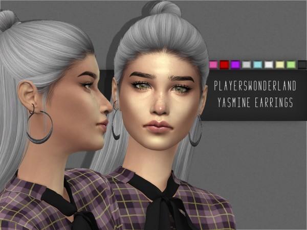 Players Wonderland: Yasmine Earrings