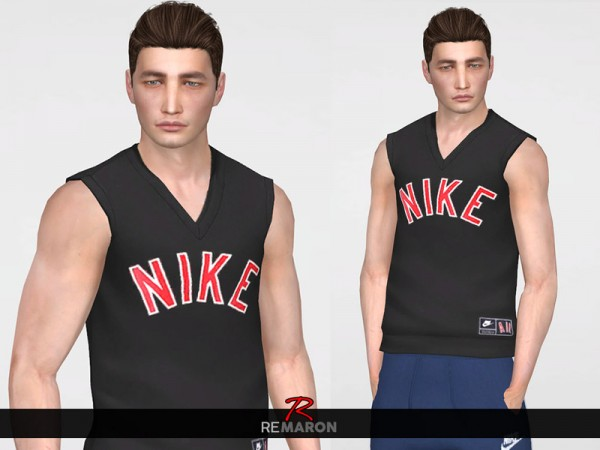 The Sims Resource: Tank top for Men by remaron