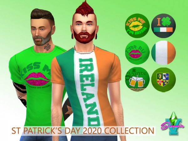 The Sims Resource: St Patrick 2020 teez by SimmieV