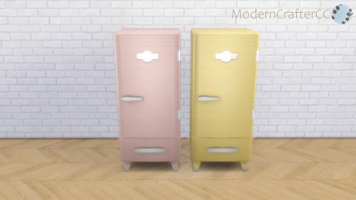 Modern Crafter: Classic Modern Fridge Recolour