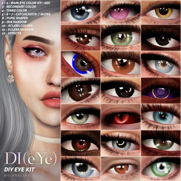 Praline Sims: DIY Eyes Kit